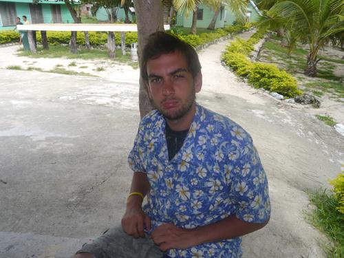 Fijian Shirt and Ben