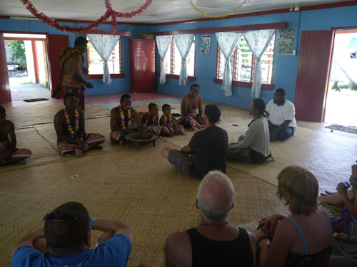 Kava chief ceremony