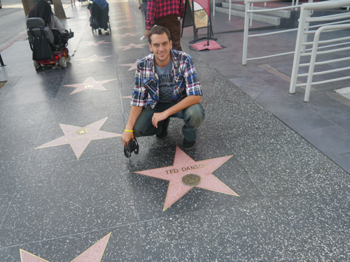 Ted Danson's Star on the Hollywood Walk of Fame