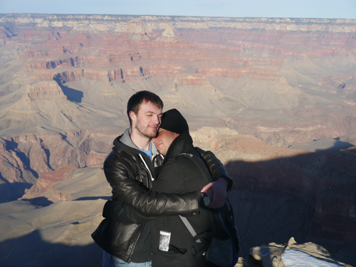 Ben & Col at the Grand Canyon