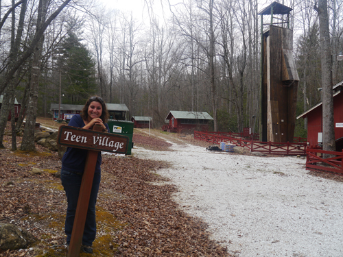 Teen Village in Blue Star Camps, NC