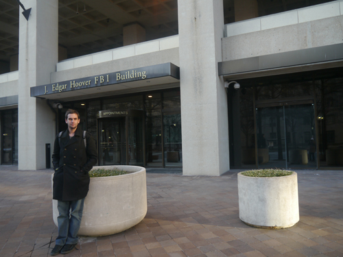 The J Edgar Hoover FBI Building, Washington DC