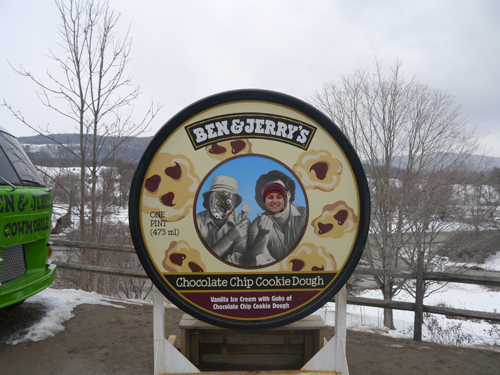 Ben and Jerry's factory in Vermont
