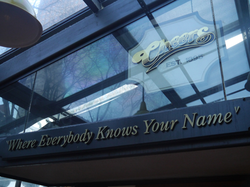 Where everybody knows your name