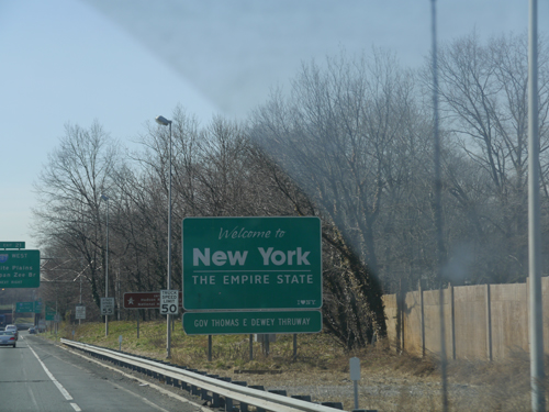 New York State Sign