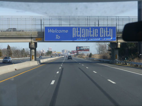 Atlantic City Sign