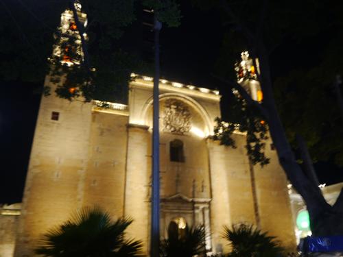 Beautiful cathedral in Merida
