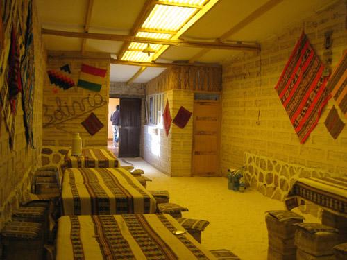 The Salt Hotel - Bolivia