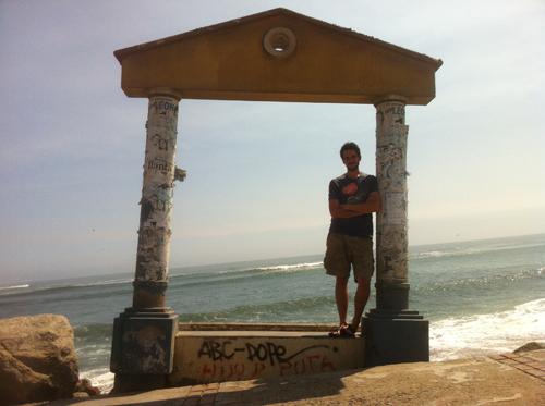 Ben on the Beach in Trujillo