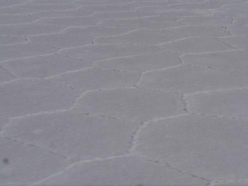 Patterns in the salt in Bolivia