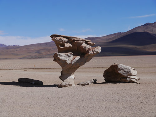 Stunning rock formations in Bolivia