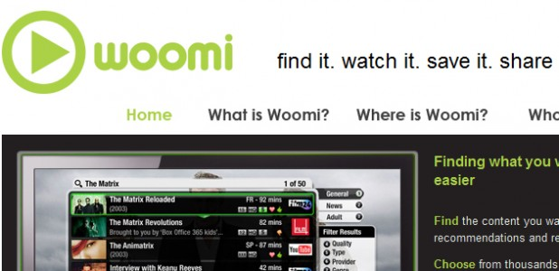 woomi - connected TV