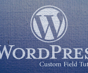 Custom Field Tutorials for Wordpress