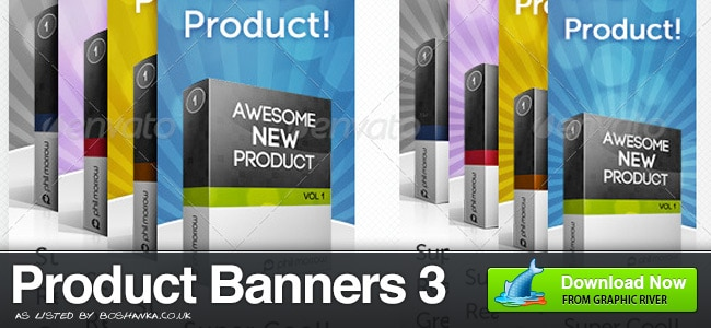 Featured Product Banner Ads