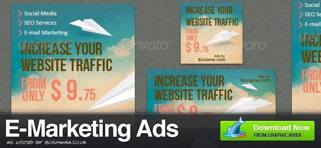 E-Marketing Web Banner Ads