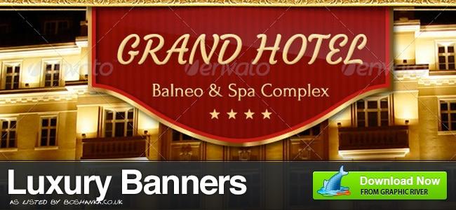 Luxury Banner Ads