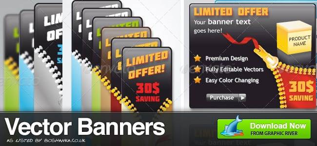 Vector Banner Ads