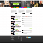 Free Download of this PSD Template