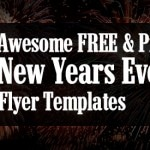 10 Free New Years Eve Flyer Templates to Download!