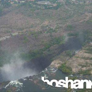Arial View of Victoria Falls in Southern Africa