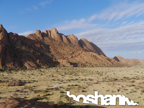 Beautiful Rock Formations in the Namibian Desert, Namibia, Southern Africa