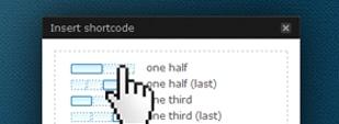 WordPress Column Shortcodes