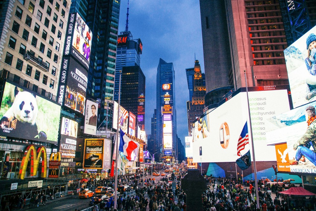 Buy yourself a billboard in Times Square