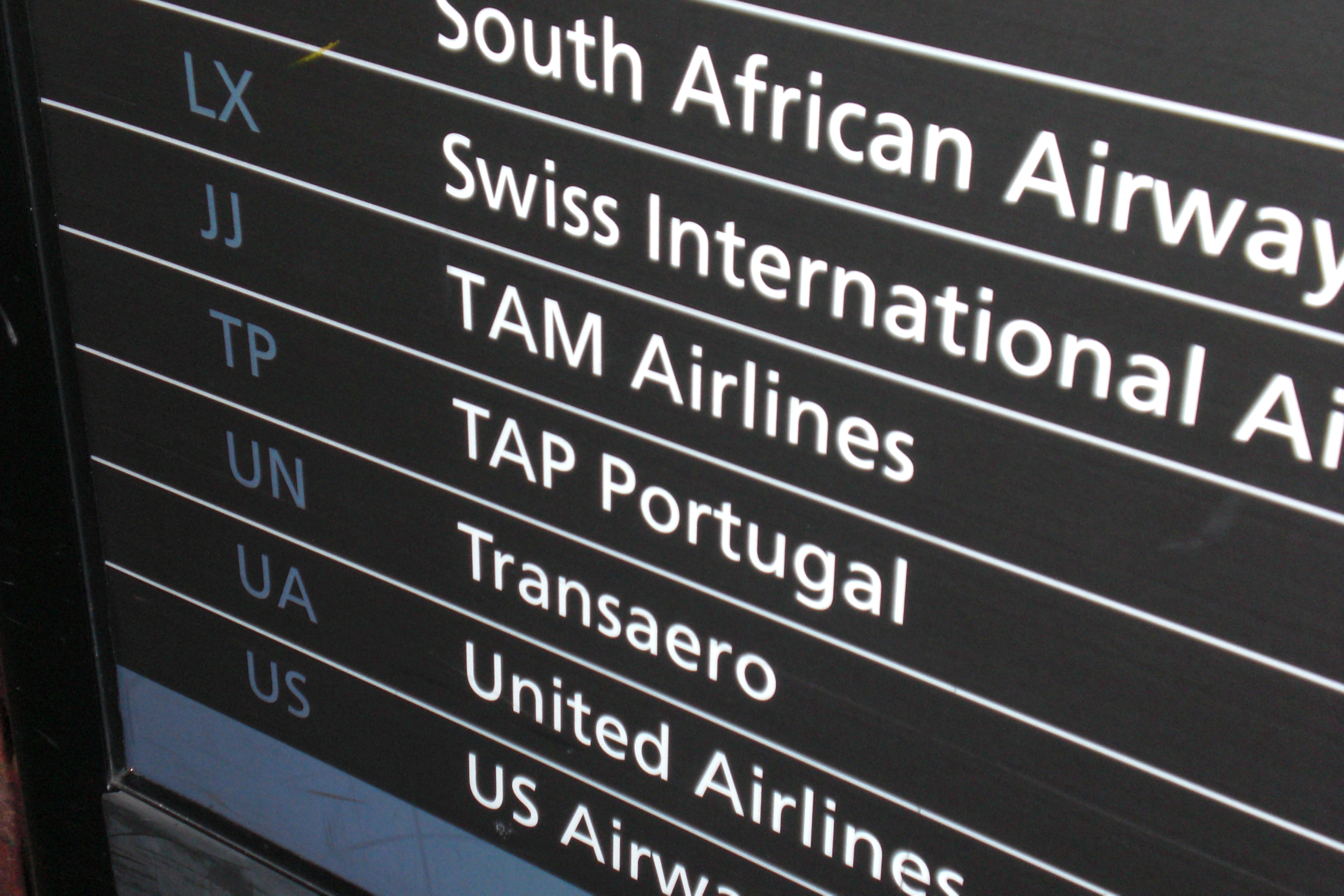 I\'m not getting on if we\'re flying with \'THAT\' airline