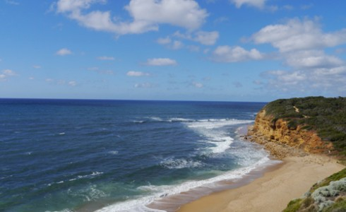 Beaches along the Great Ocean Road