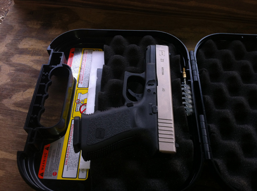 A Handgun from Texas