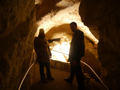 Tam and Col in the Carlsbad Caverns