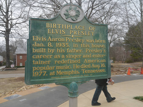The birthplace of Elvis Presley