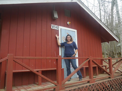 V14 Cabin, Blue Star Camps, NC