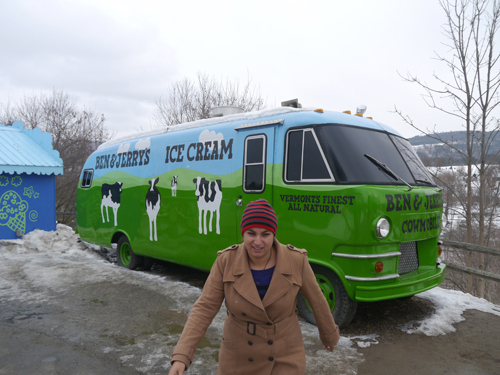 Ben and Jerry's Bus