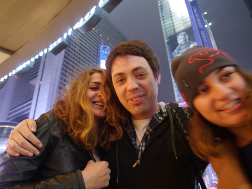 Drunk in Times Square