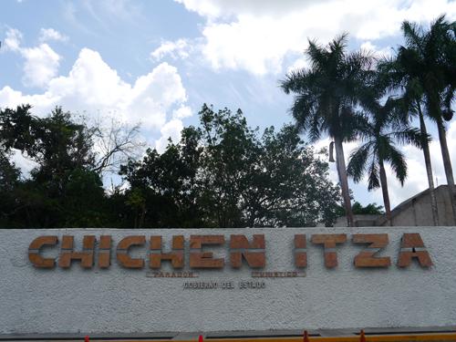 Chichen Itza Sign