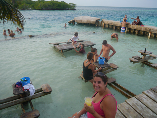 Tam at the Split, Caye Caulker