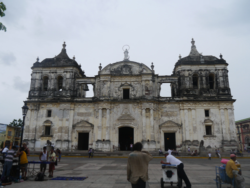 Cathederal in Leon, Nicaragua