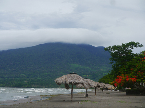 The beach at Ometepe, Nicaragua