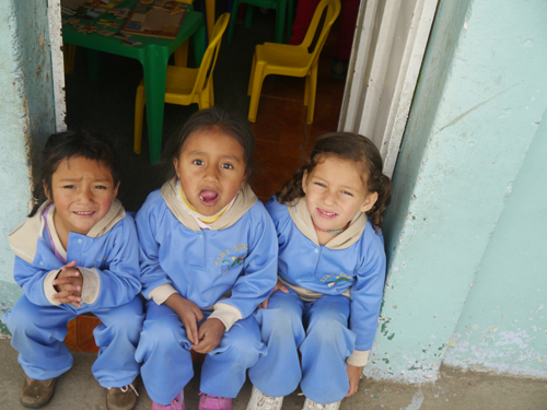 Kids in Ecuador