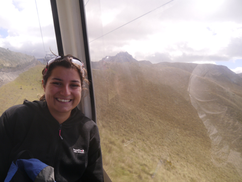 The Cable Car in Quito