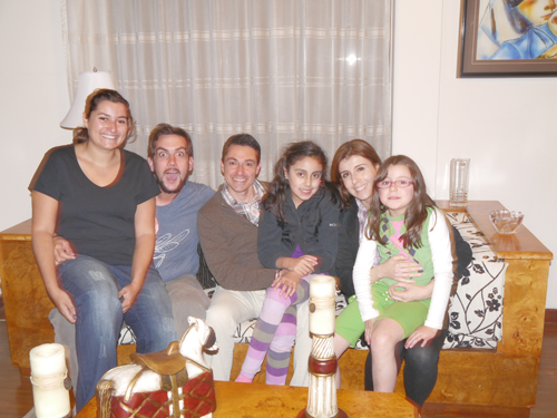 Francisco and his Family