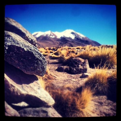 A volcano in Bolivia