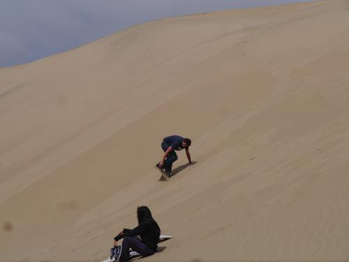 Ben Sandboarding