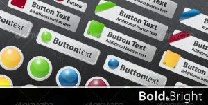 Web Buttons Stock Graphic