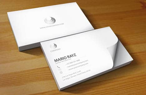 Boshanka Business Card Design