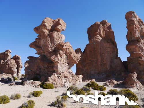 Rock Formations in Bolivia