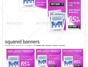 Stunning Web Banners PSD Pack