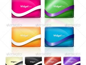 Web 2.0 Widget Boxes
