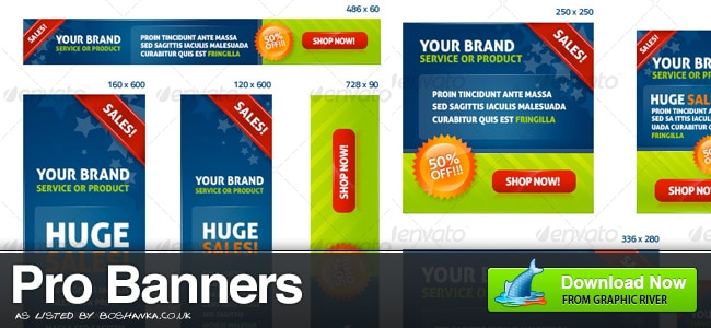 Professional Banner Ads